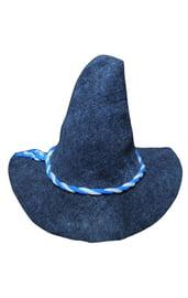 Детская серая остроконечная шляпа