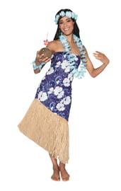 Взрослый костюм Гавайской девушки