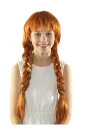 Парик Анны с длинными косами