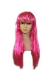 Розовый детский парик
