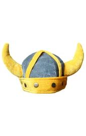 Детский желтый шлем викинга
