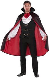 Плащ вампира с черным воротником