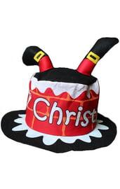 Детская музыкальная шляпа Merry Christmas