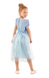Детский костюм принцессы в голубом