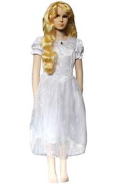 Детское белое платье принцессы