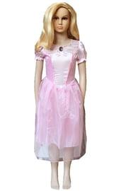 Детский розовый костюм принцессы