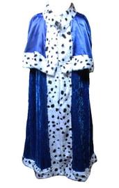 Взрослая синяя мантия короля