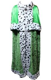 Взрослая зеленая мантия короля