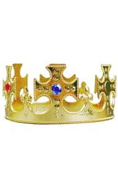 Детская золотая корона с камнями