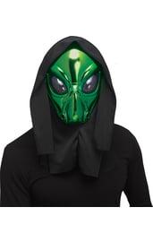 Зеленая маска пришельца