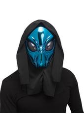 Синяя маска пришельца
