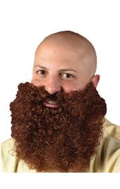 Кудрявая рыжая борода