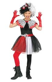 Детский костюм Круэллы де Вилль