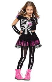 Детский костюм Скелета в платье
