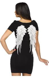 Белые мини-крылья ангела