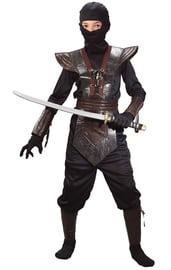 Детский коричневый костюм Ниндзя