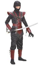 Карнавальный красный костюм Ниндзя