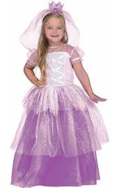 Детский костюм Принцессы в фиолетовом платье