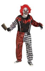Взрослый костюм Жуткого клоуна