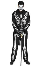 Взрослый костюм Мистера Скелета