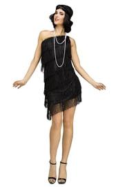 Черный костюм модницы из 20-х