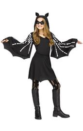 Детский костюм Летучей Мыши с костями