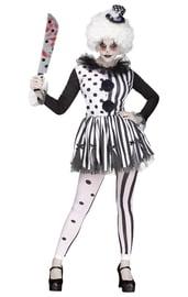 Женский костюм Клоуна-убийцы