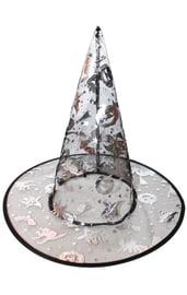 Детская серебристая шляпа ведьмы