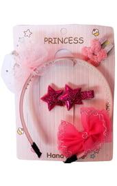Детский розовый набор принцессы