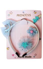 Детский голубой набор принцессы