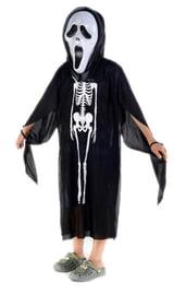 Детская накидка Скелет
