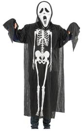 Взрослая накидка Скелет