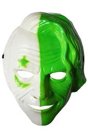 Бело-зеленая маска Джокера