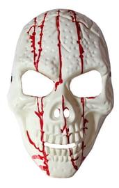 Маска скелета с кровью