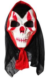 Маска черепа вампира в капюшоне