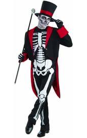 Взрослый костюм Скелета во фраке