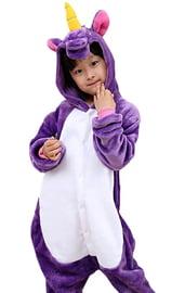 Детский кигуруми Фиолетовый Единорог