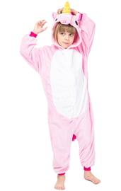 Детский кигуруми Светло-розовый Единорог