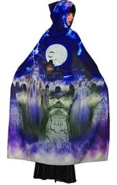 Плащ ведьмы с надгробиями