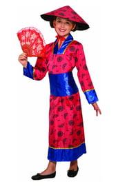 Детский костюм азиатской принцессы