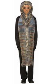 Костюм Тутанхамона в саркофаге