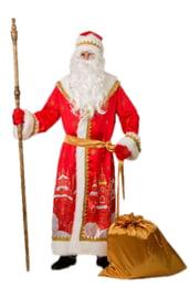Костюм Деда Мороза с принтом города