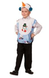 Детский костюм веселого Снеговичка