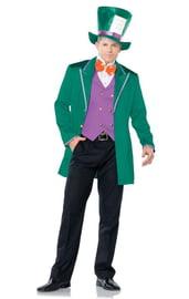 Костюм Безумного Шляпника в зеленом