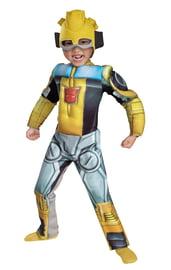 Костюм желтого Трансформера Бамблби детский