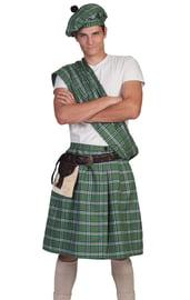 Костюм Шотландца в зеленом