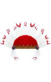 Карнавальный головной убор индейца