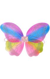 Детские крылья бабочки с узорами