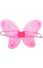 Детские розовые крылья феи