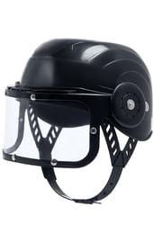 Детский черный шлем полицейского